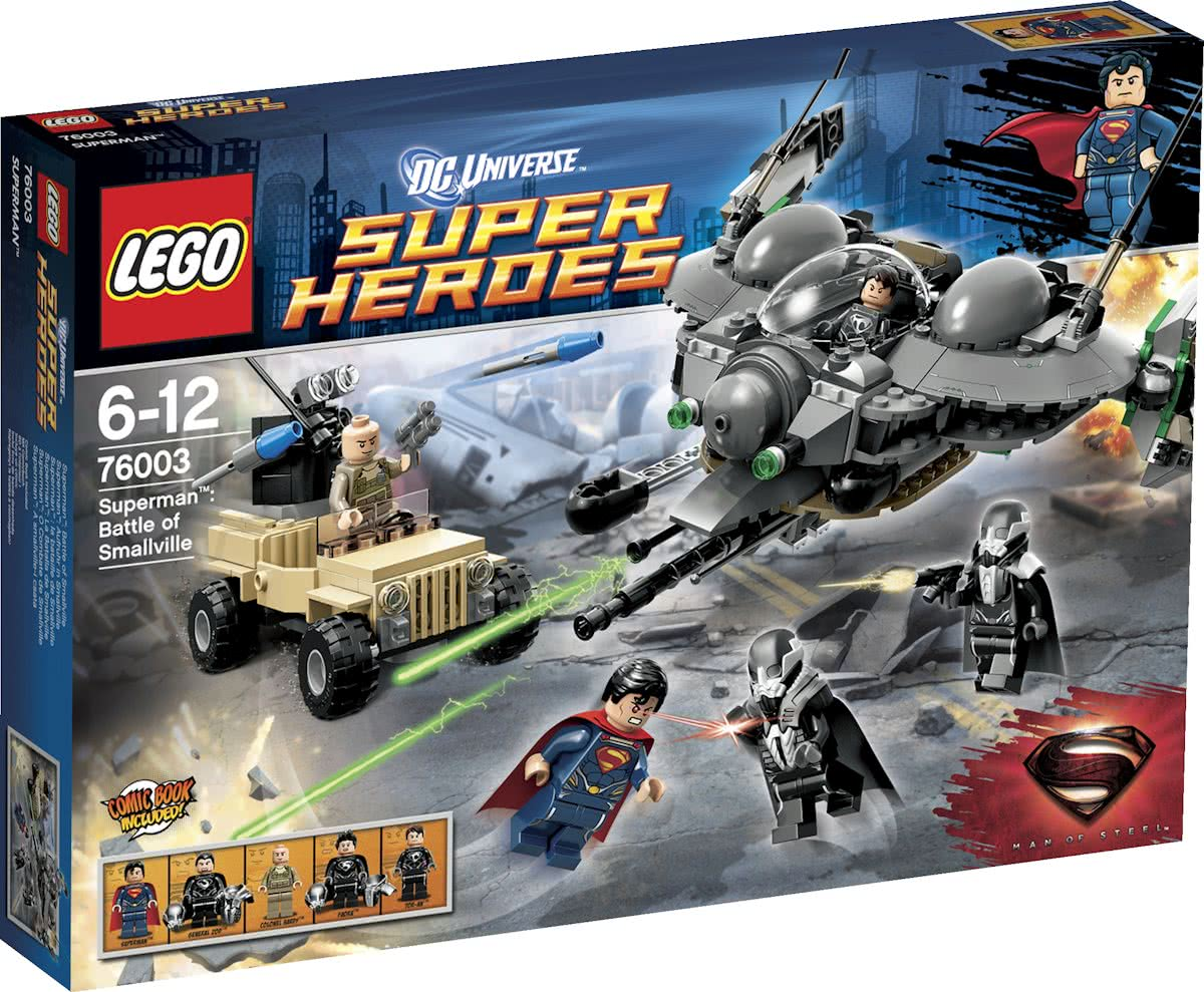 LEGO Super Heroes Strijd om Smallville - 76003