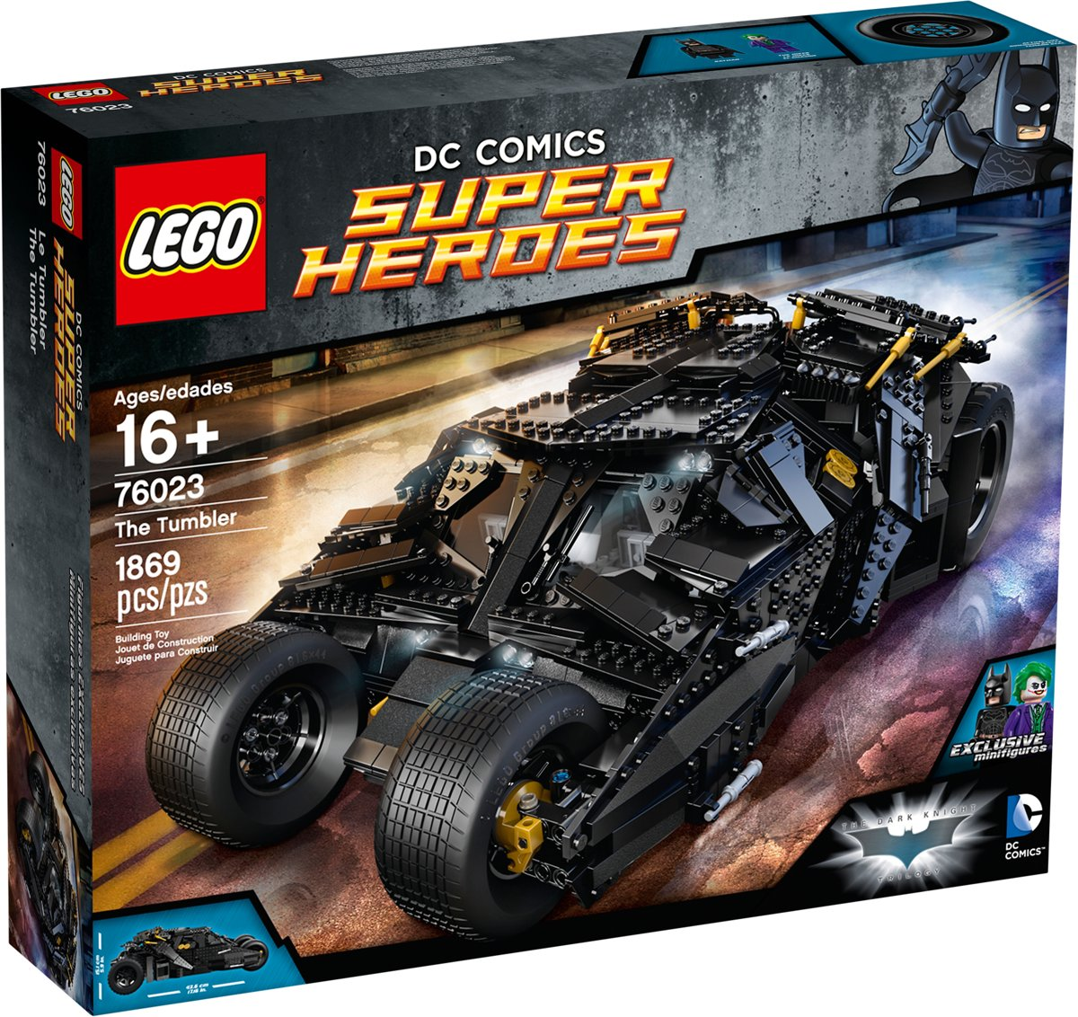 LEGO Super Heroes The Tumbler - 76023