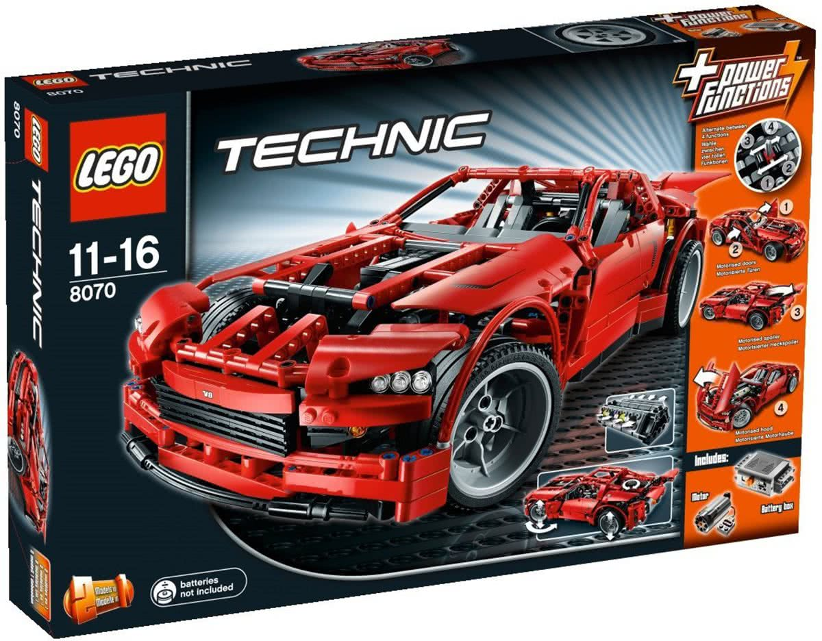 LEGO Technic Super Car - 8070
