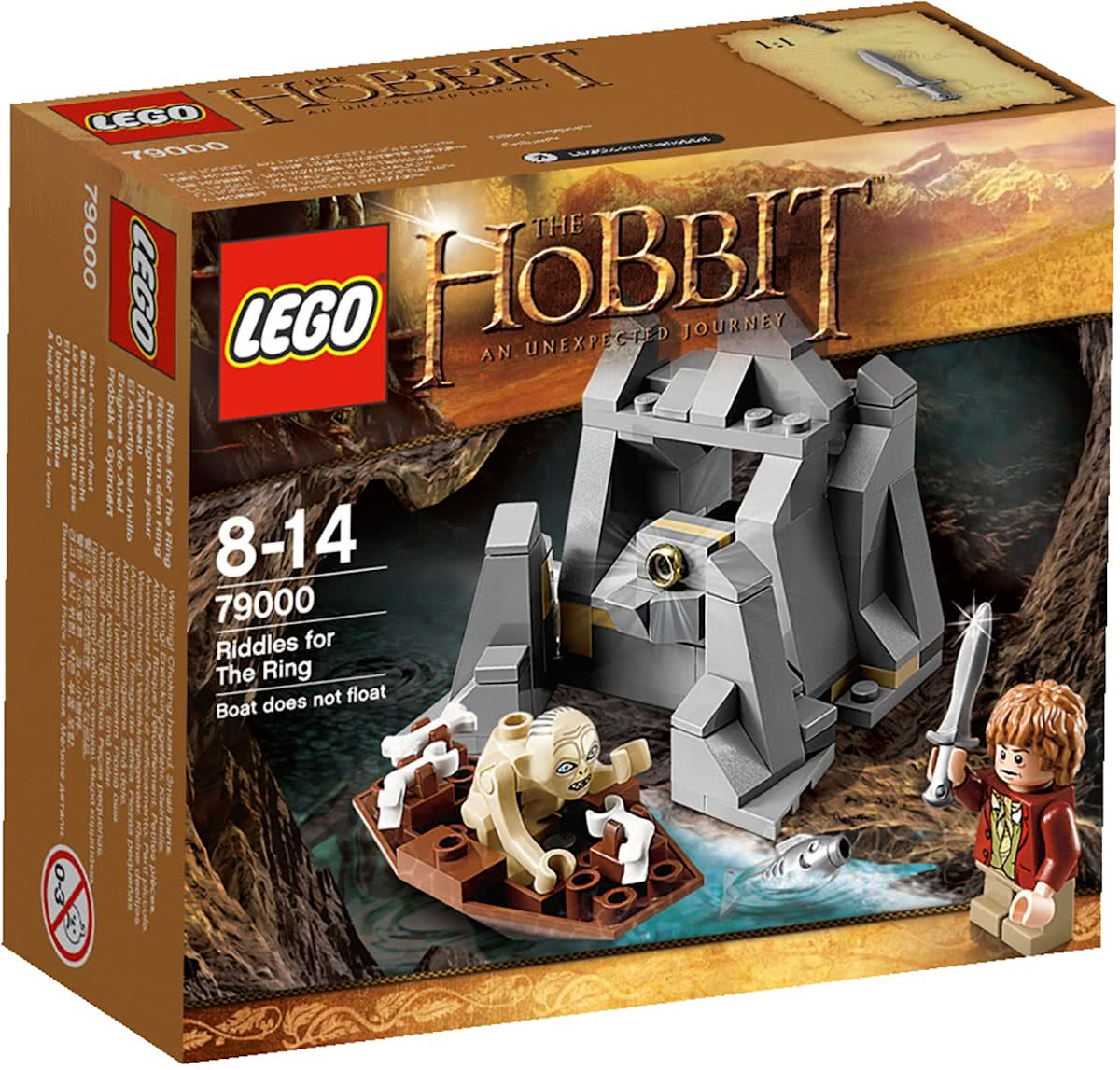 LEGO The Hobbit - Raadsels voor De Ring - 79000