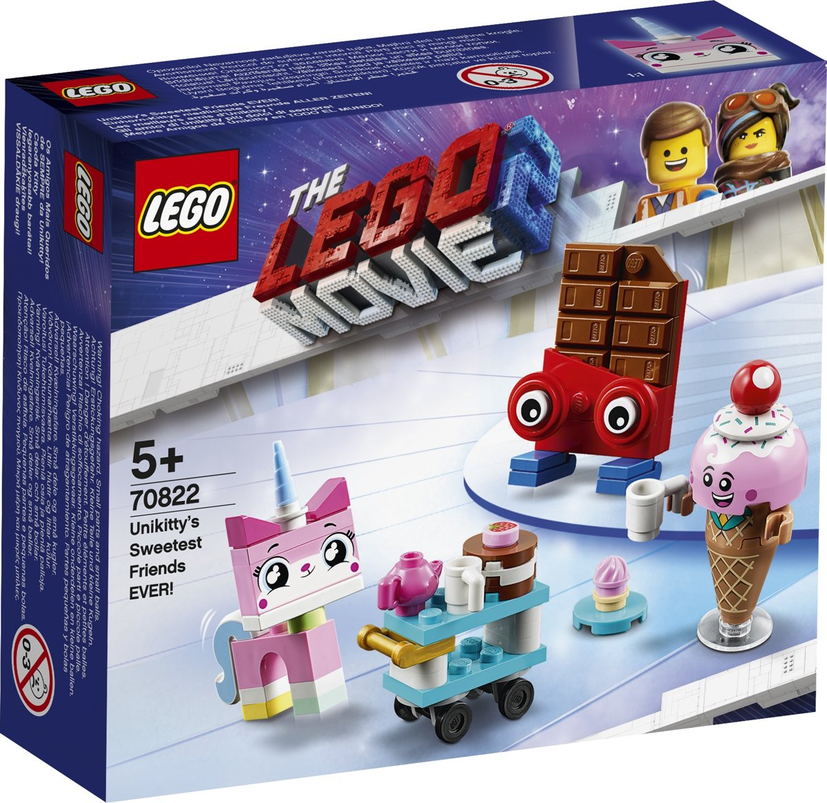 LEGO The Movie 2 De Allerliefste Vrienden van Unikitty! - 70822