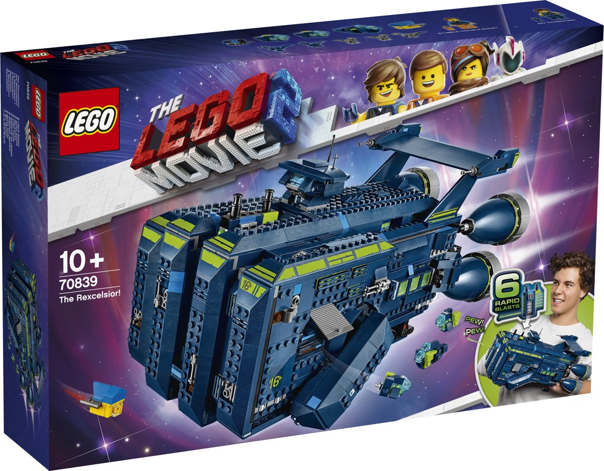 LEGO The Movie 2 De Rexcelsior! - 70839