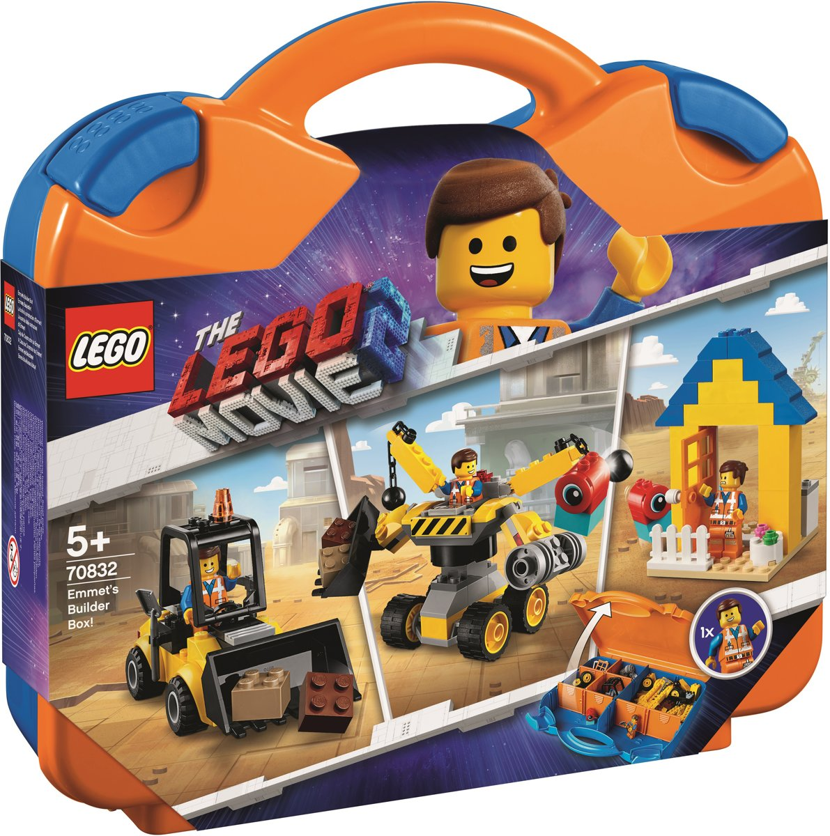 LEGO The Movie 2 Emmets Bouwdoos! - 70832