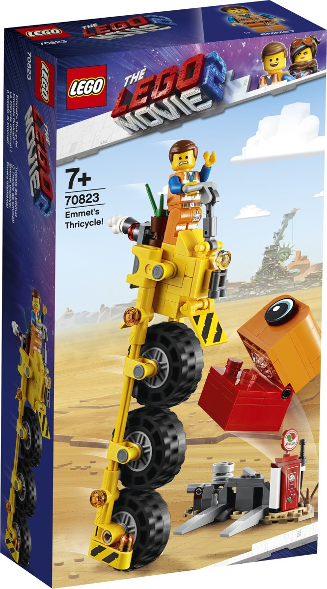 LEGO The Movie 2 Emmets Driewieler! - 70823