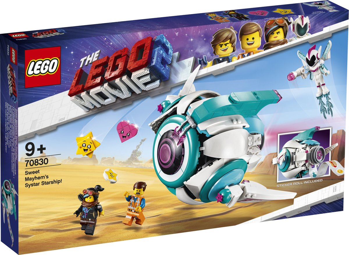 LEGO The Movie 2 Lieve Chaos Systar Ruimteschip - 70830