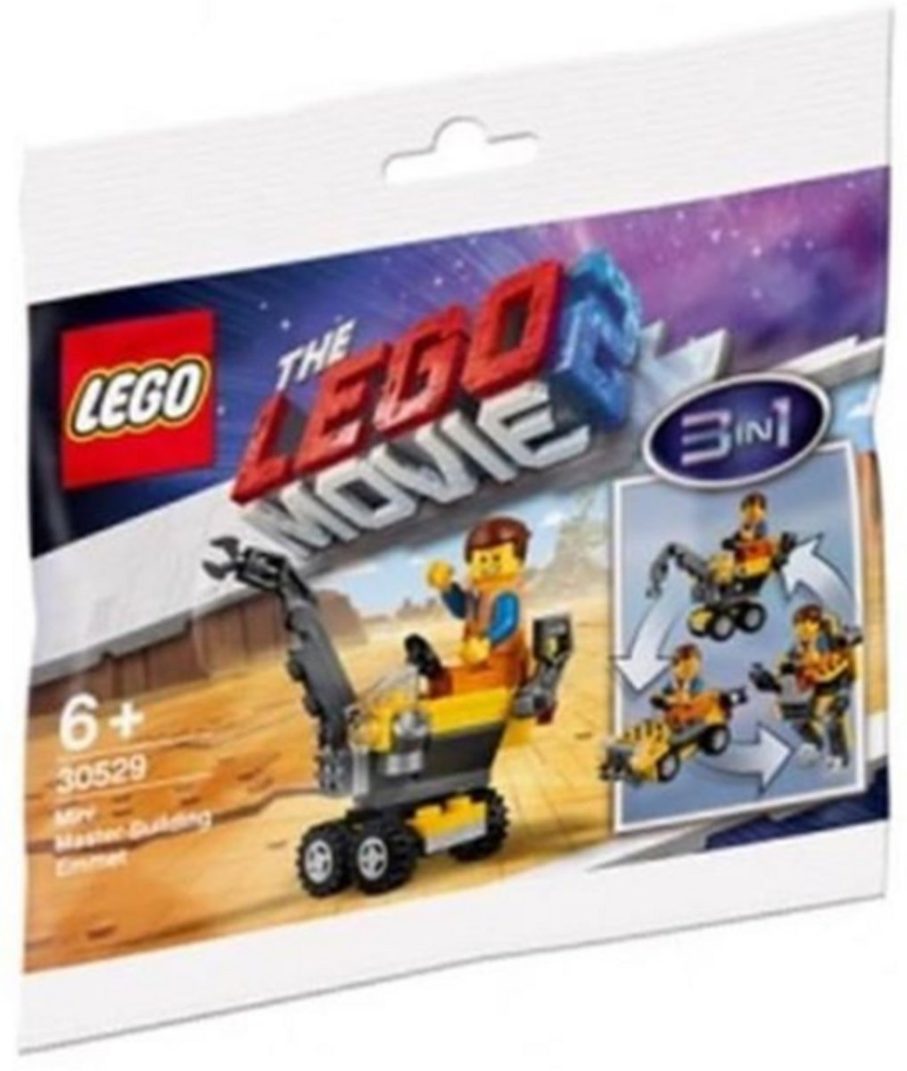 LEGO The Movie 2 Mini Meesterbouwer Emmet (polybag) - 30529