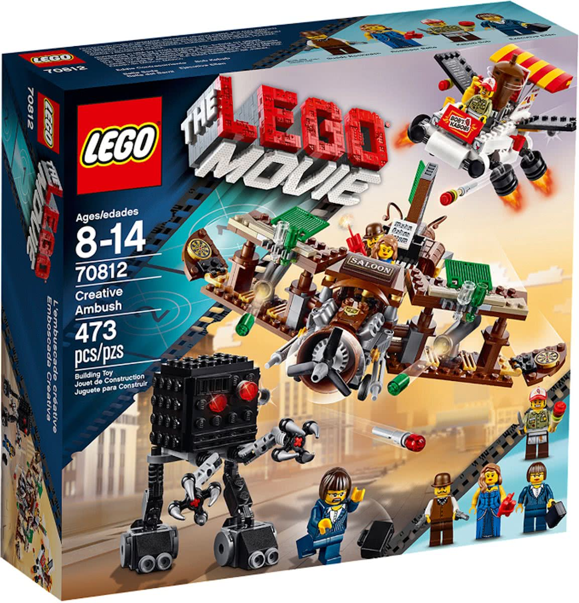 LEGO The Movie Creative Ambush - 70812
