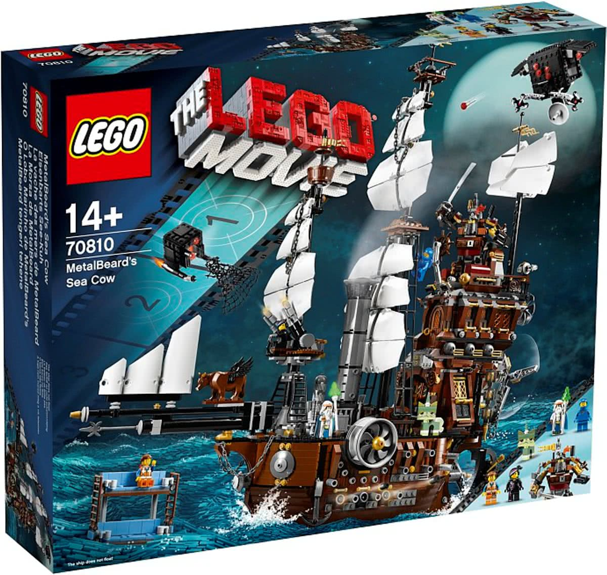 LEGO The Movie Metaalbaards Zeekoe - 70810