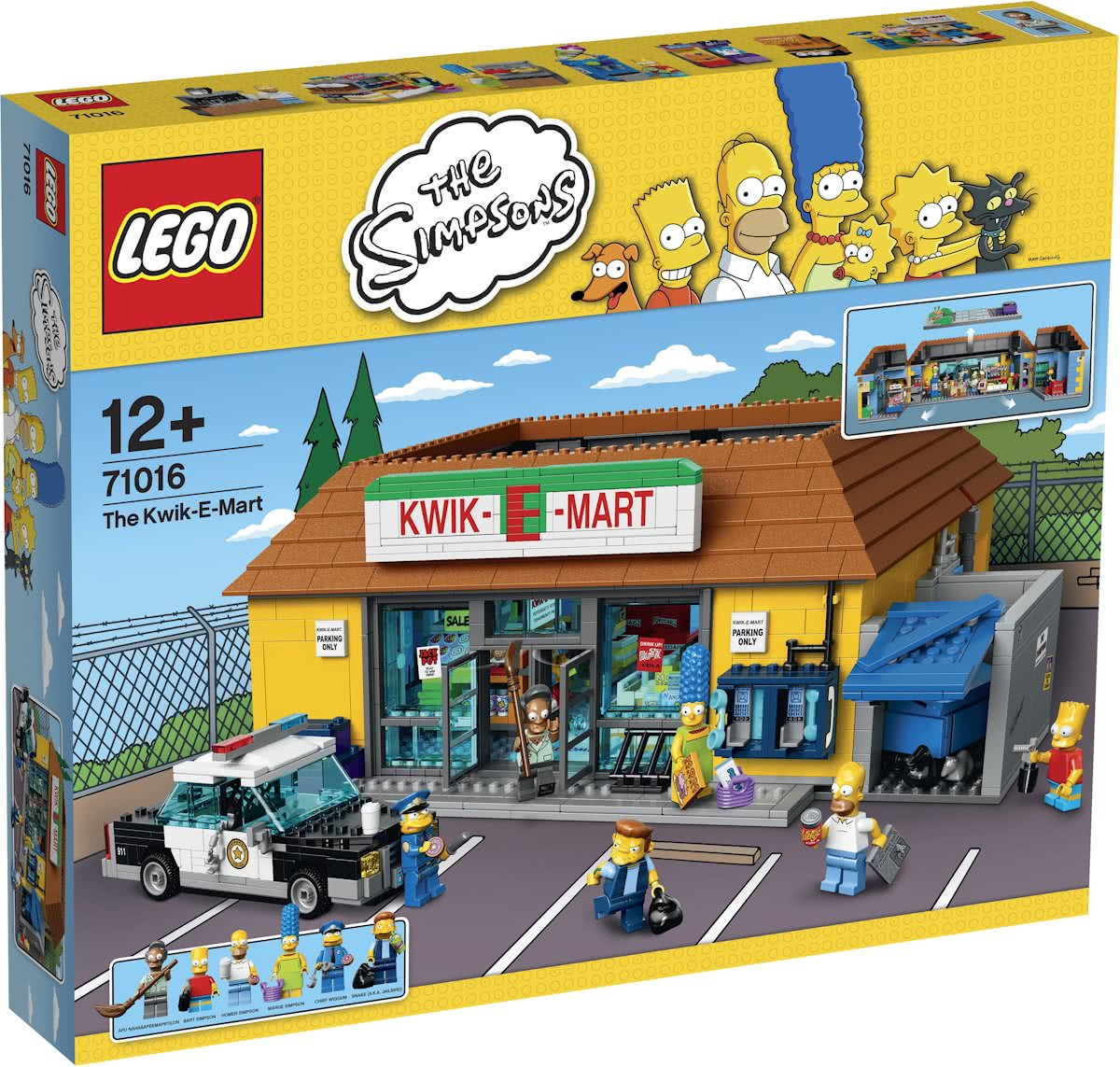 LEGO The Simpsons Kwik-E-Mart - 71016