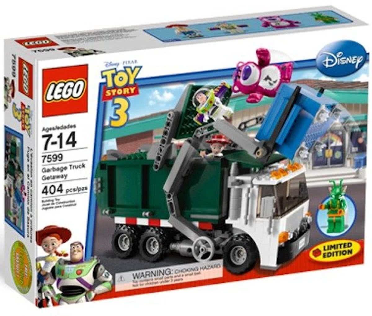 LEGO Toy Story 3 Vuilniswagen Ontsnapping - 7599