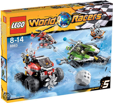 LEGO World Racers Sneeuwstorm Spits - 8863