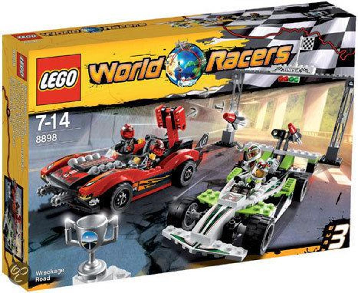 LEGO World Racers Wrakkenweg - 8898