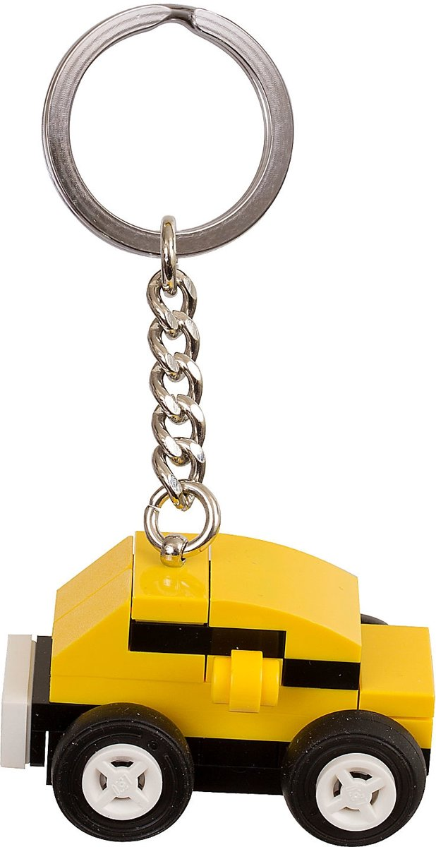 LEGO Yellow Car Bag Charm Bouwpakket