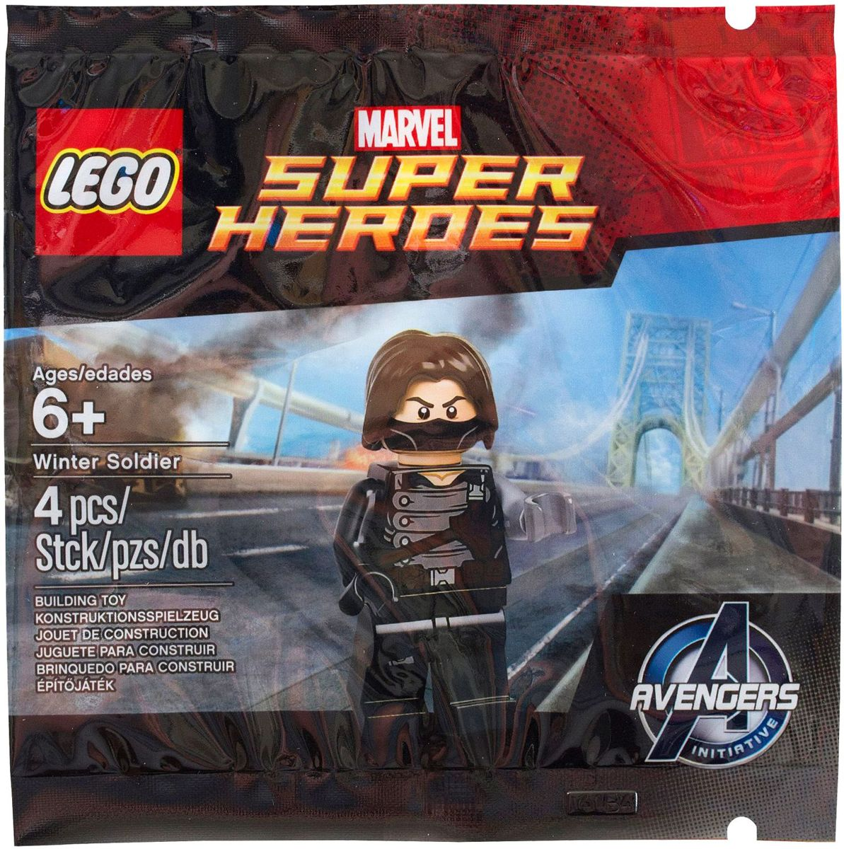 Lego 6119216 Winter Soldier Marvel Super Heroes