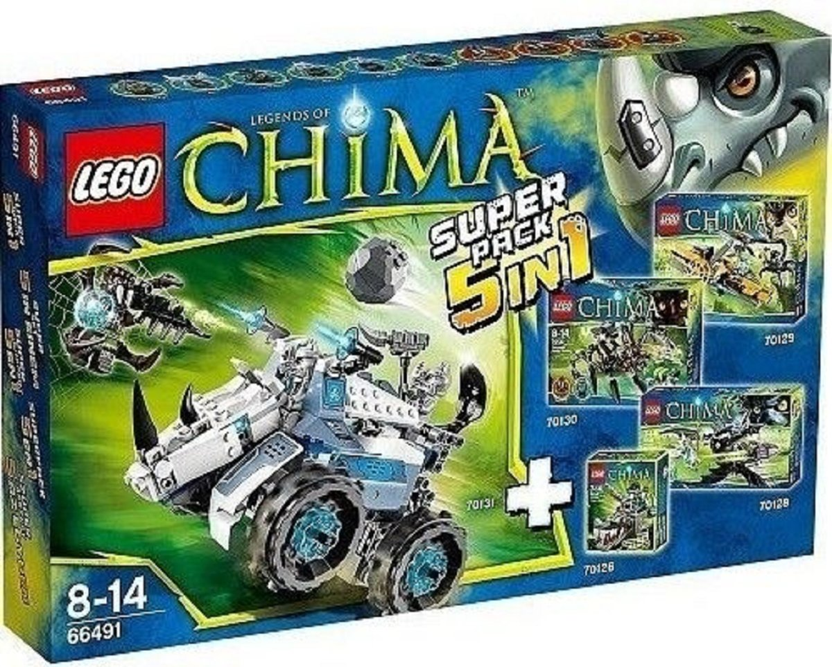 Lego Chima 66491 Value Pack