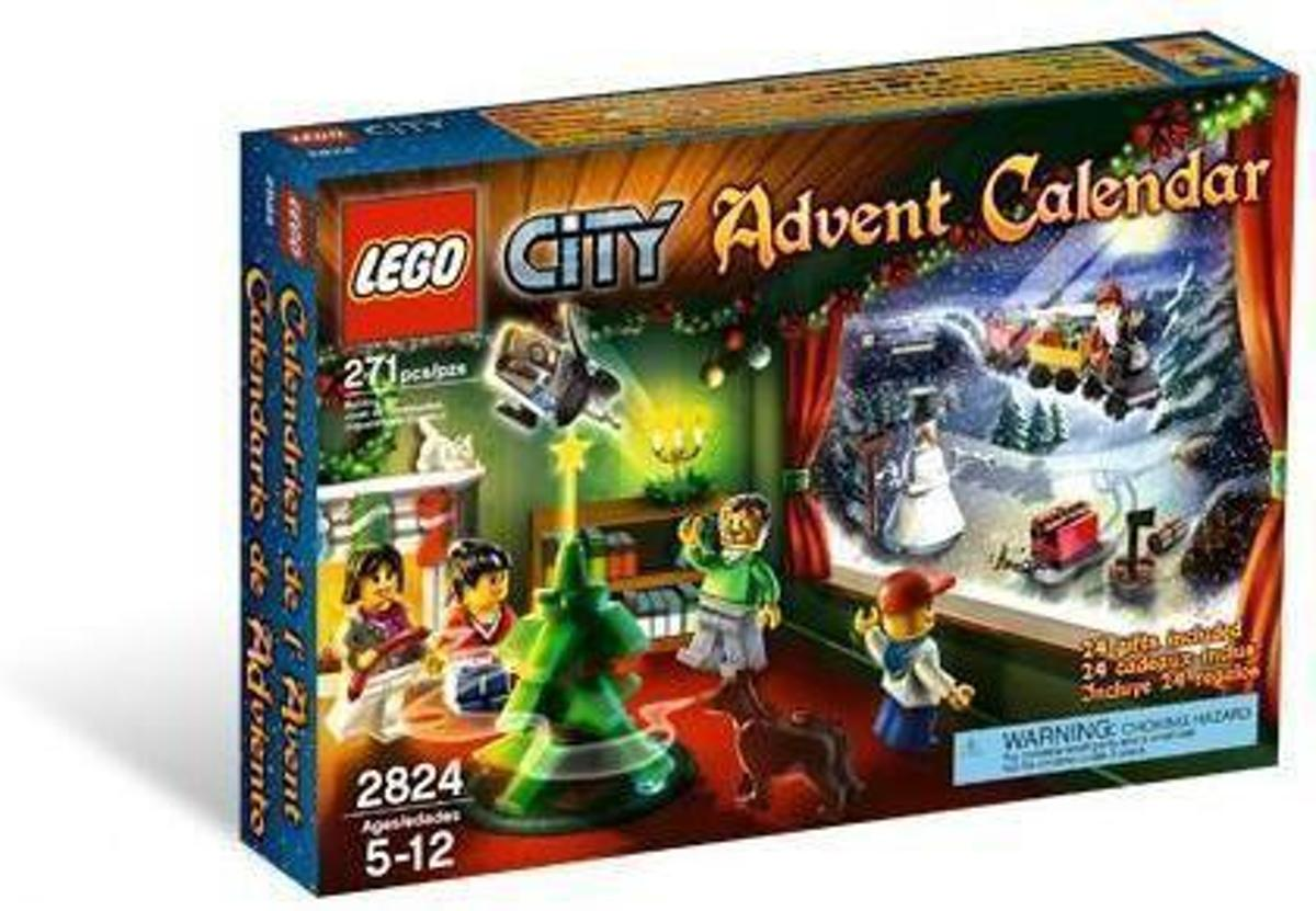 Lego City Advent Calender - 2824