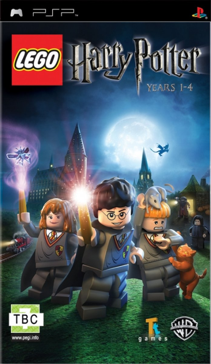 Lego: Harry Potter Years 1-4 (PSP)