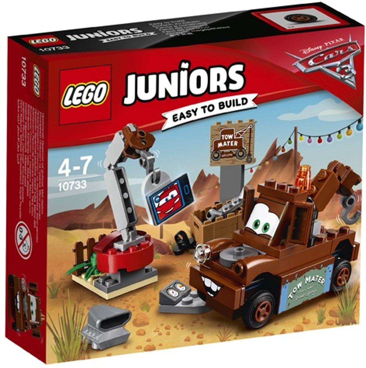 Lego Juniors: Disney Cars 3 Takels Sloopterrein (10733)
