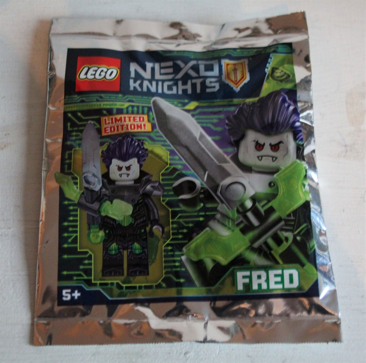 Lego Nexo Knights Minifigure - FRED (polybag)