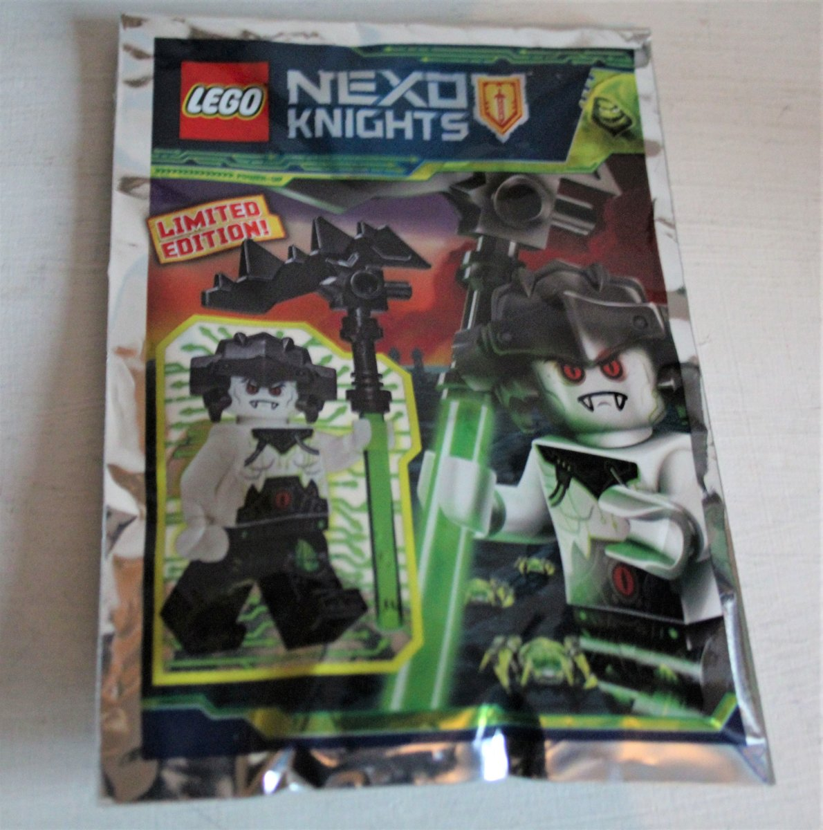 Lego Nexo Knights minifigure Rock Monster (polybag)