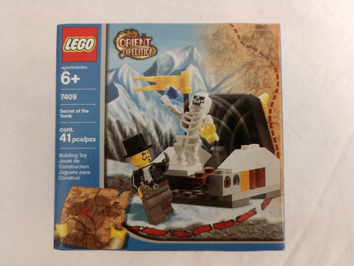 Lego Orient Expedition - Secret Of The Tomb - 7409