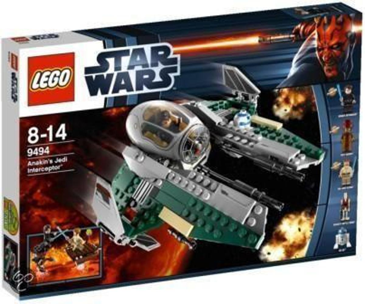 Lego Star Wars 9494 Anakins Jedi Interceptor