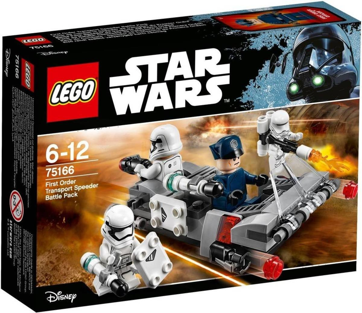 Lego Star Wars: First Order Transport Speeder Battle (75166)