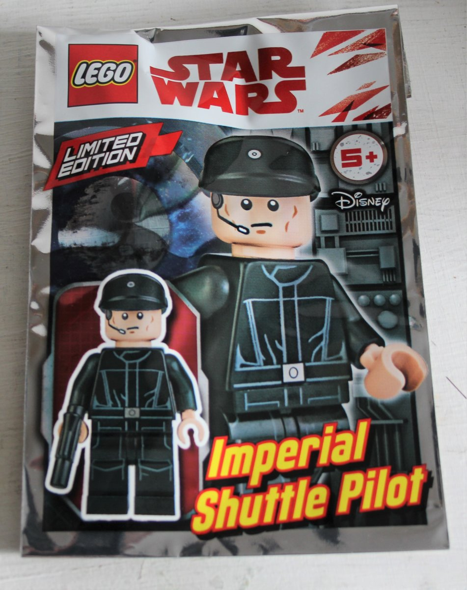 Lego Star Wars mini figure - Imperial Shuttle pilot