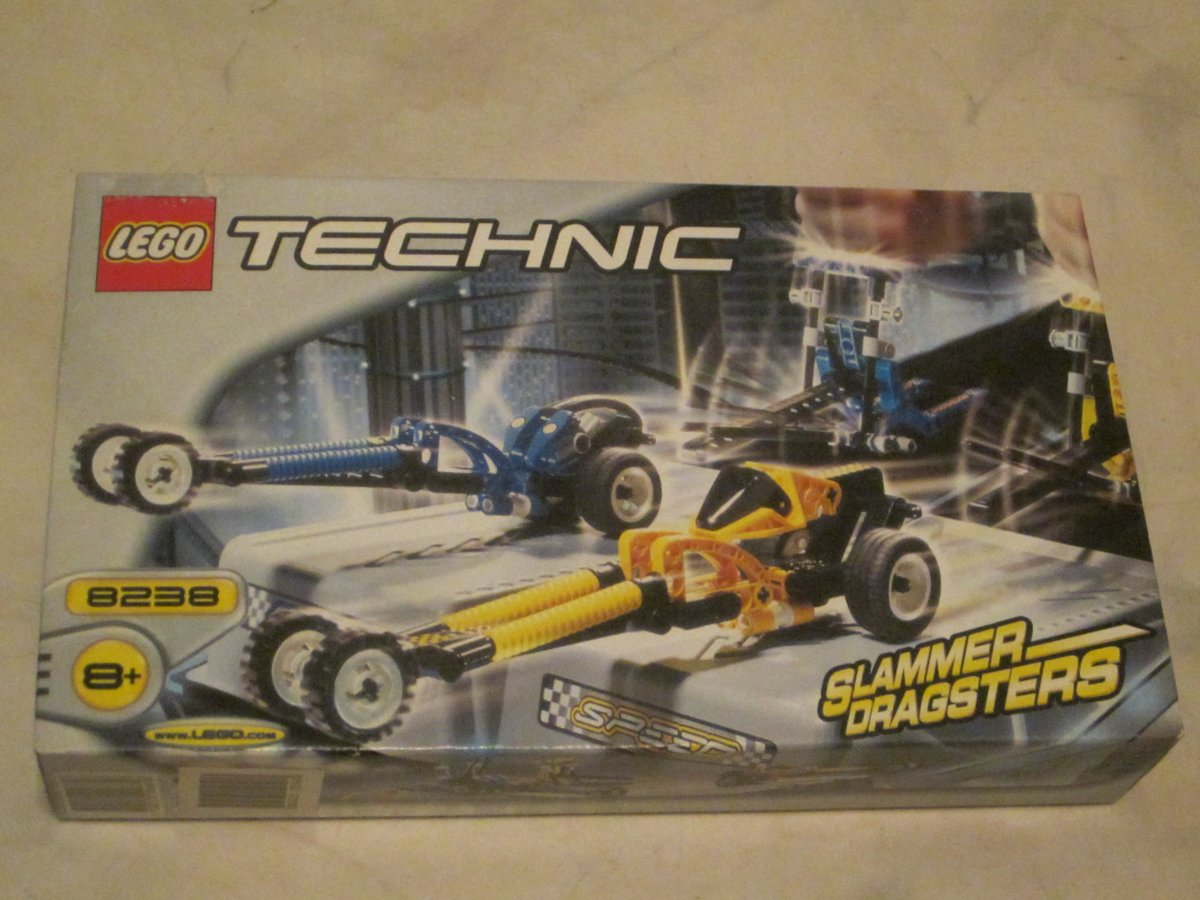 Lego Technic Slammer Dragsters 8238