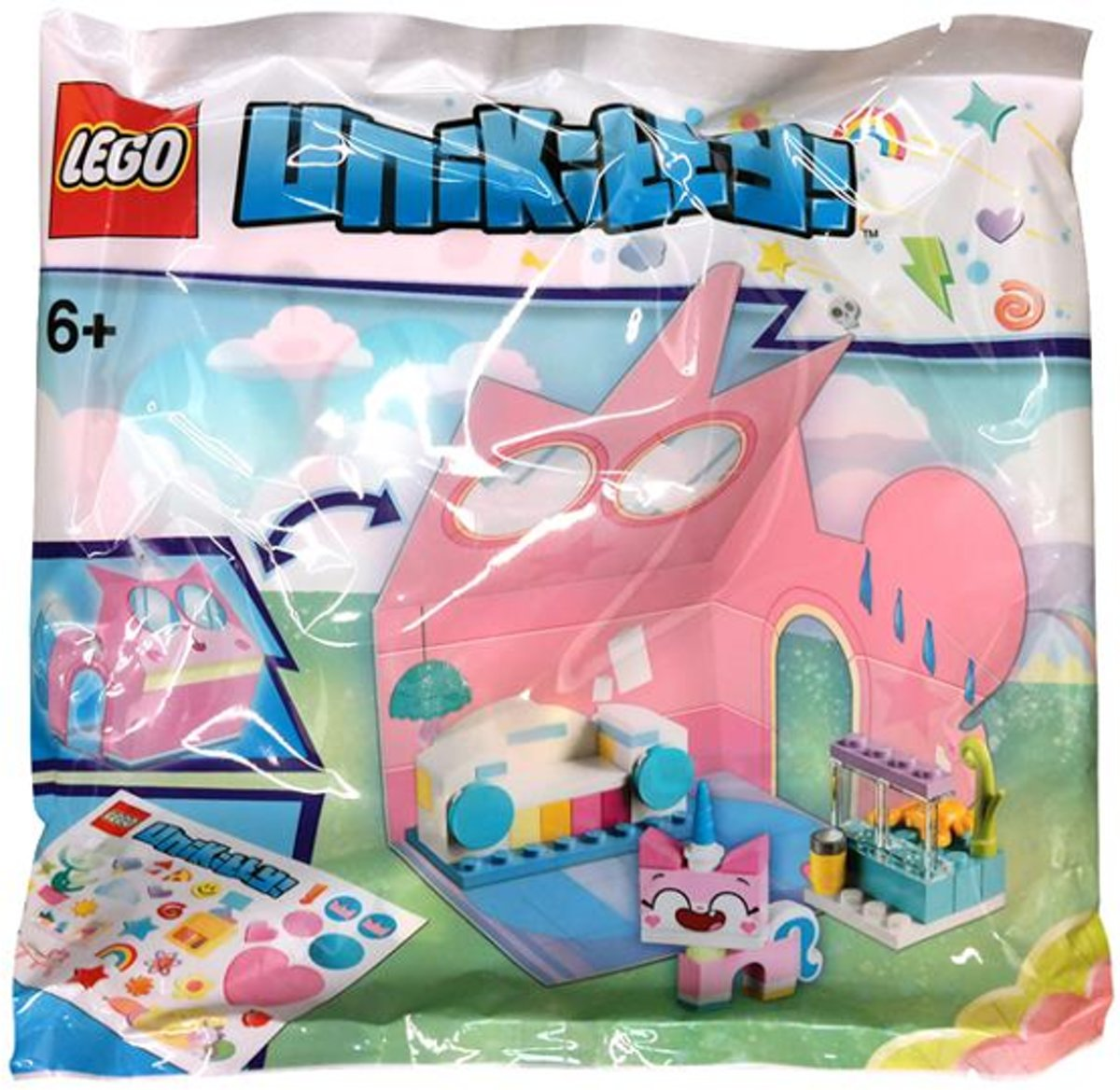Lego Unikitty Castle Room Promo Polybag (kasteel kamer)