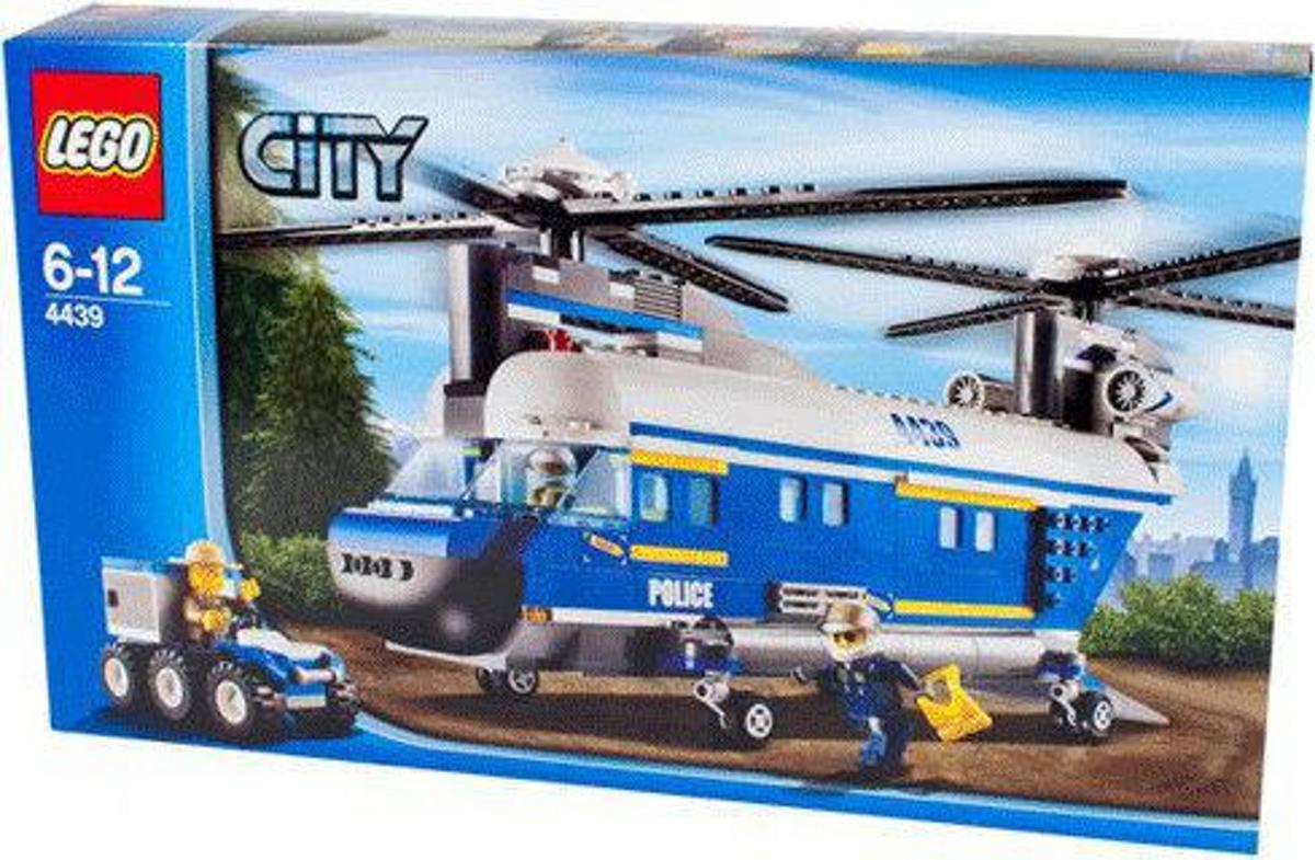 Lego city 4439 vracht helikopter