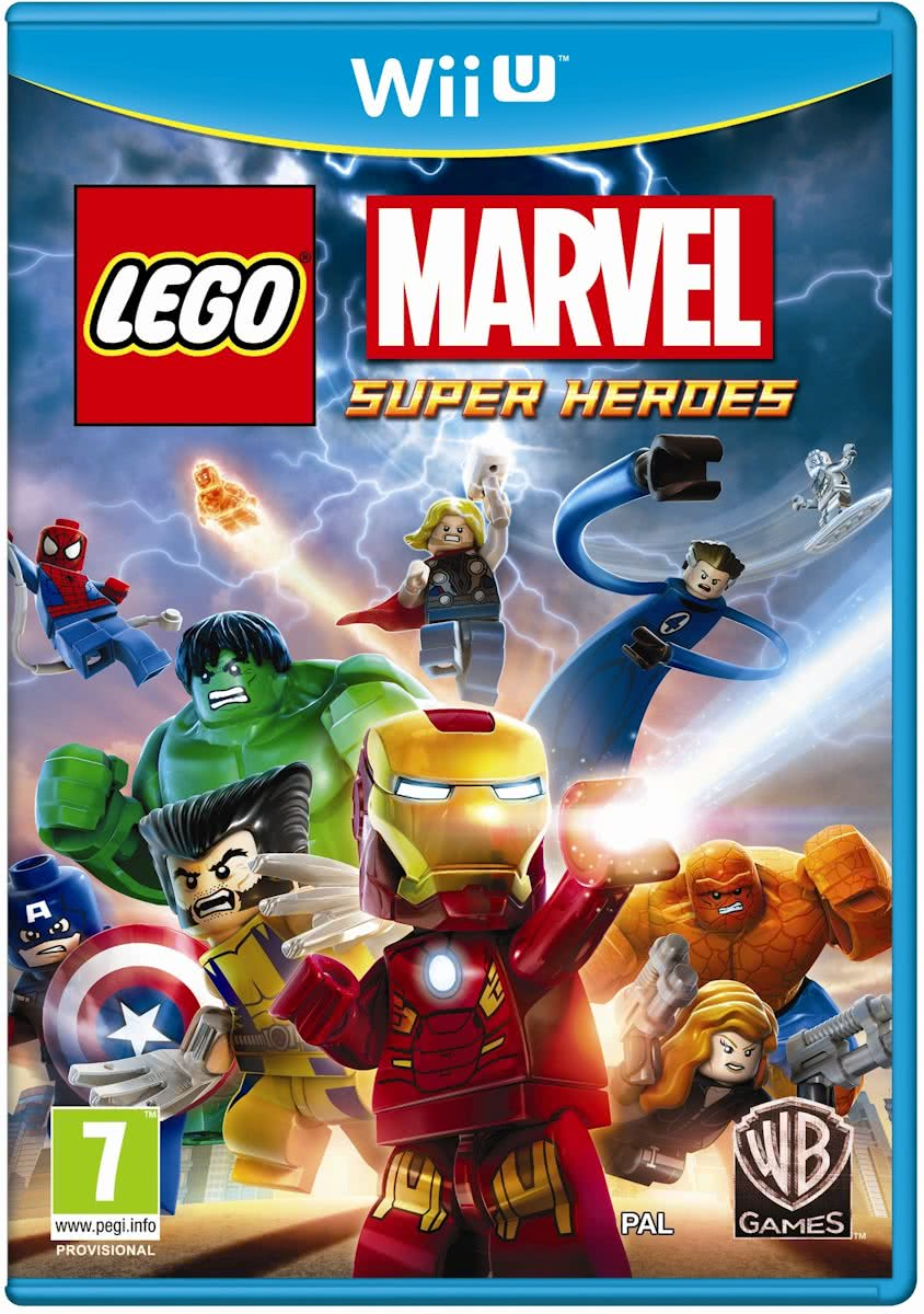Nintendo LEGO Marvel Super Heroes: Universe in Peril Basis Wii U video-game