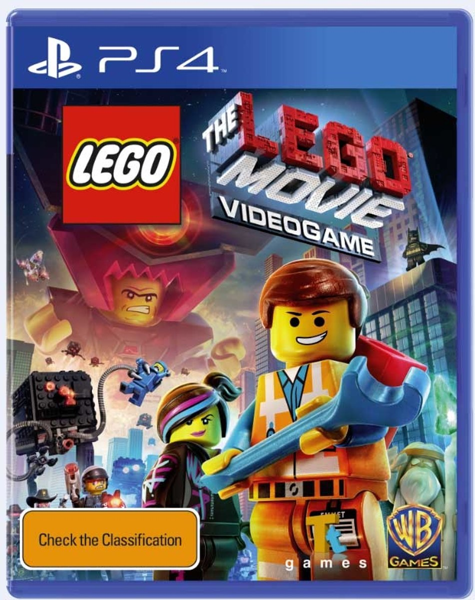 PS4 THE LEGO MOVIE : VIDEOGAME (EU)