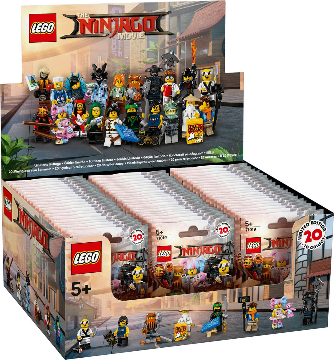 Sealed box LEGO minifiguren 71019 Ninjago Movie