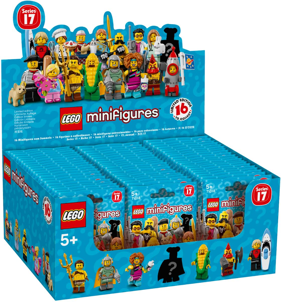 Sealed box minifiguren Serie 17