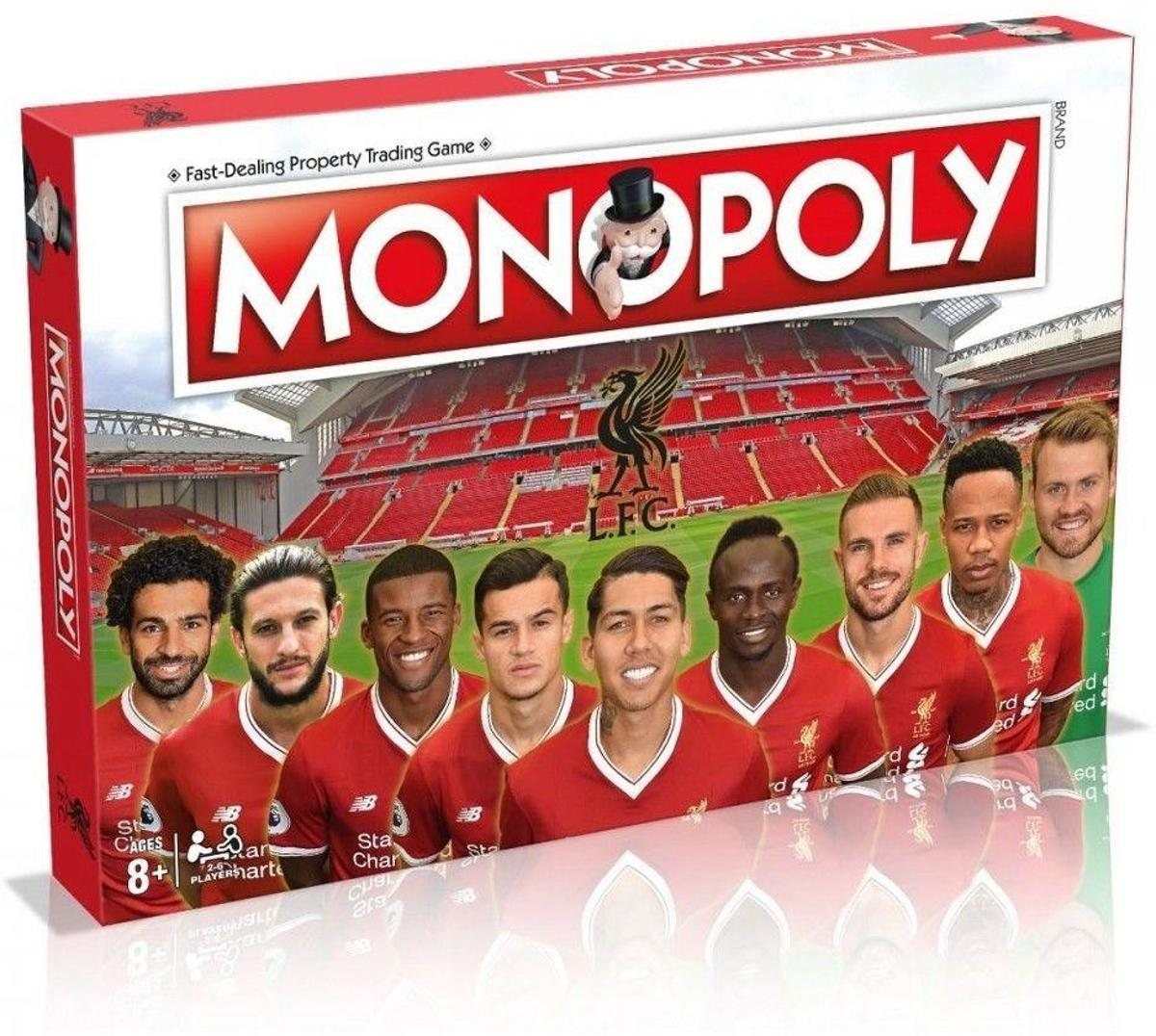 MONOPOLY - Liverpool F.C. (UK Only)