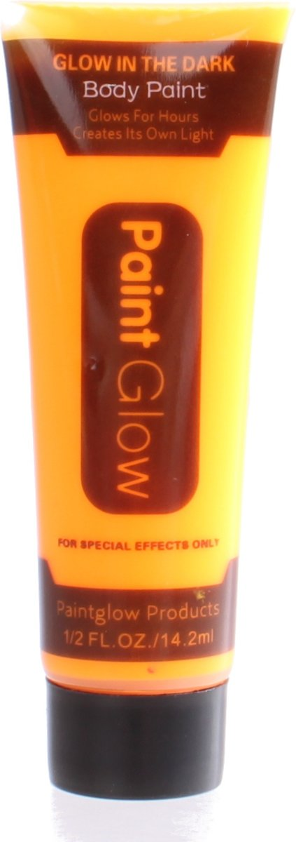 Lg-imports Glow In The Dark Body Paint Oranje 2 Ml