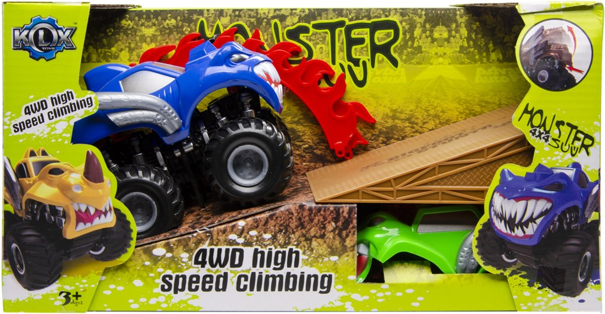 Lg-imports Monster Truck 4x4 Donkerblauw