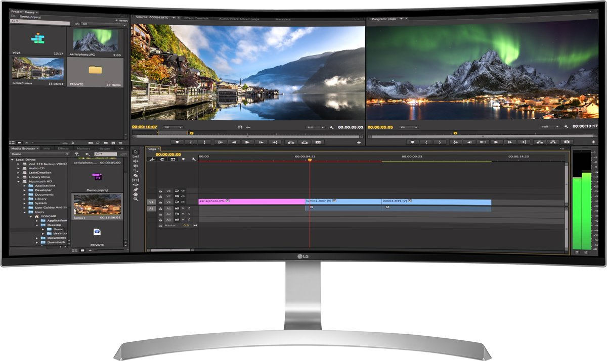 34UC99-W Curved Ultrawide IPS