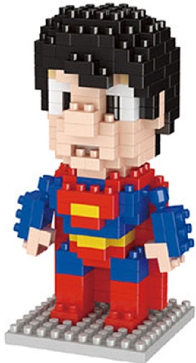 Nanoblocks Superman klein