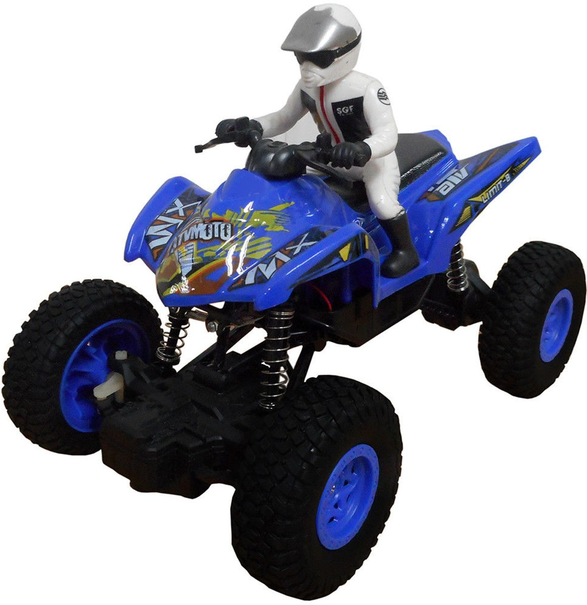 QUAD 1:20 Radiografisch bestuurbaar  - High-Speed Climbing -OFF ROAD (Oplaadbaar)