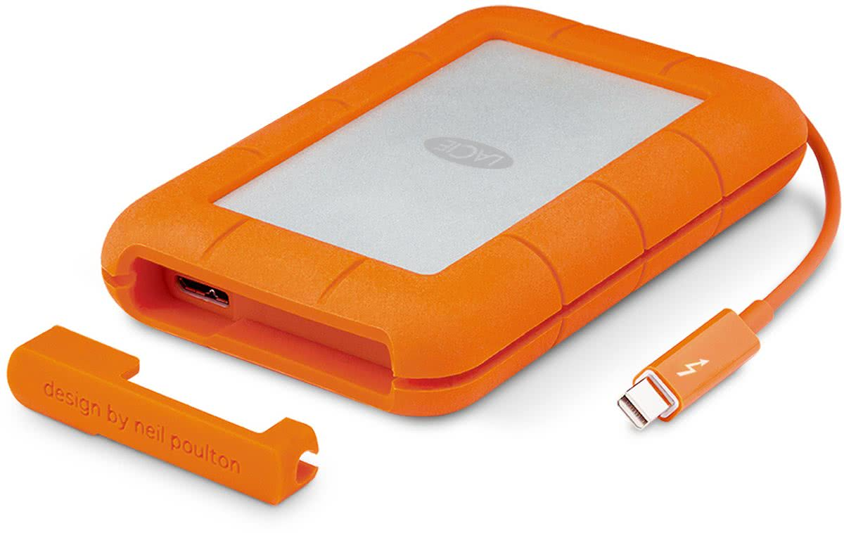 LaCie Rugged Thunderbolt - Externe harde schijf - 1 TB