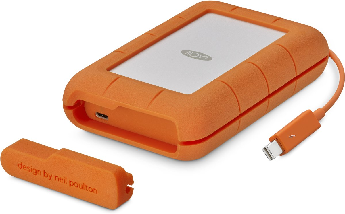 LaCie Rugged Thunderbolt USB-C - Externe SSD - 500 GB