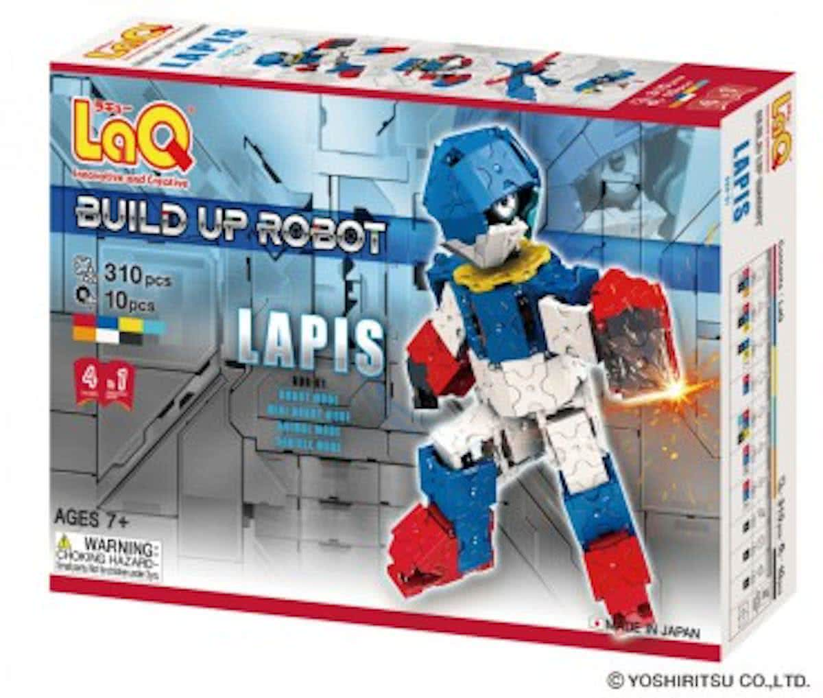 Buildup Robot Lapis
