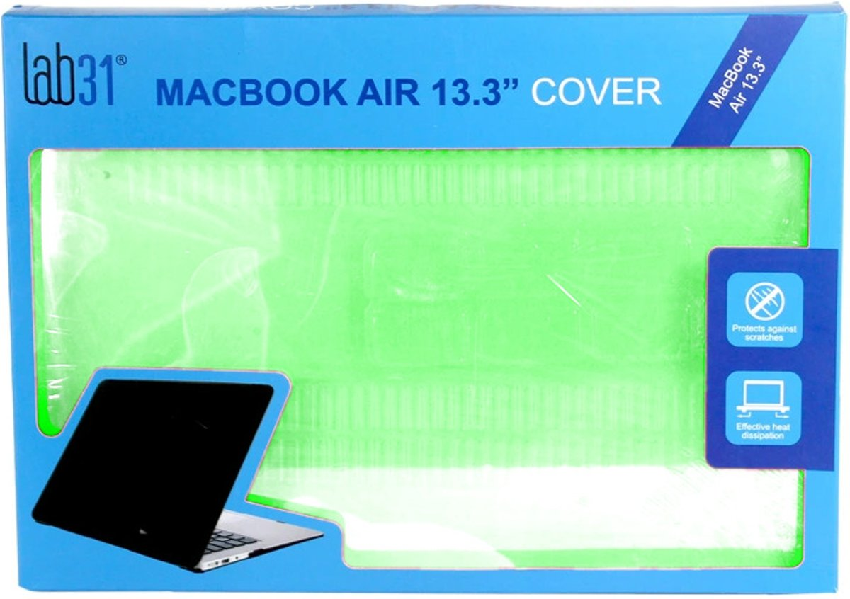 Lab31 Macbook Air 13.3 Cover - Groen