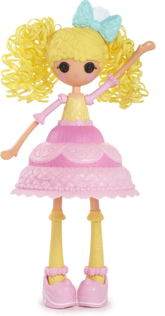 Girls Cake Fashion Doll- Candle Slice O Cake