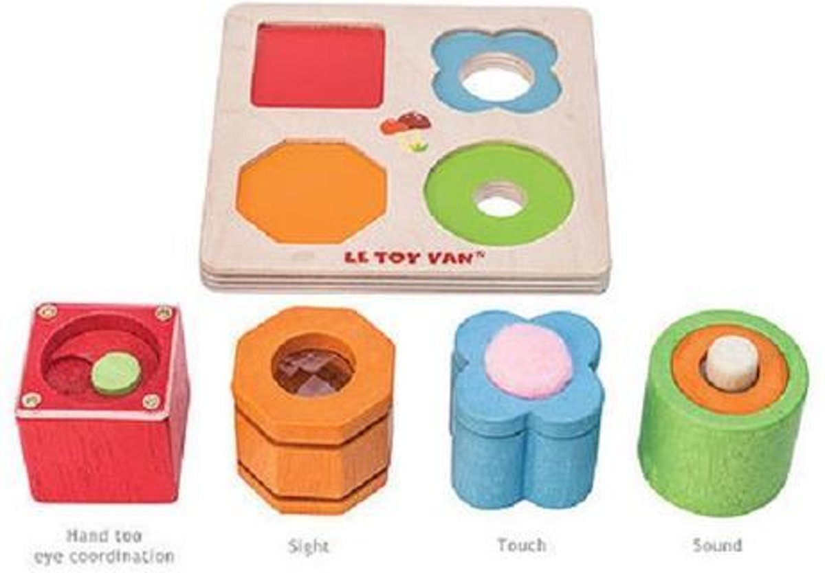 Le Toy Van 4 Piece sensory tray set PL093