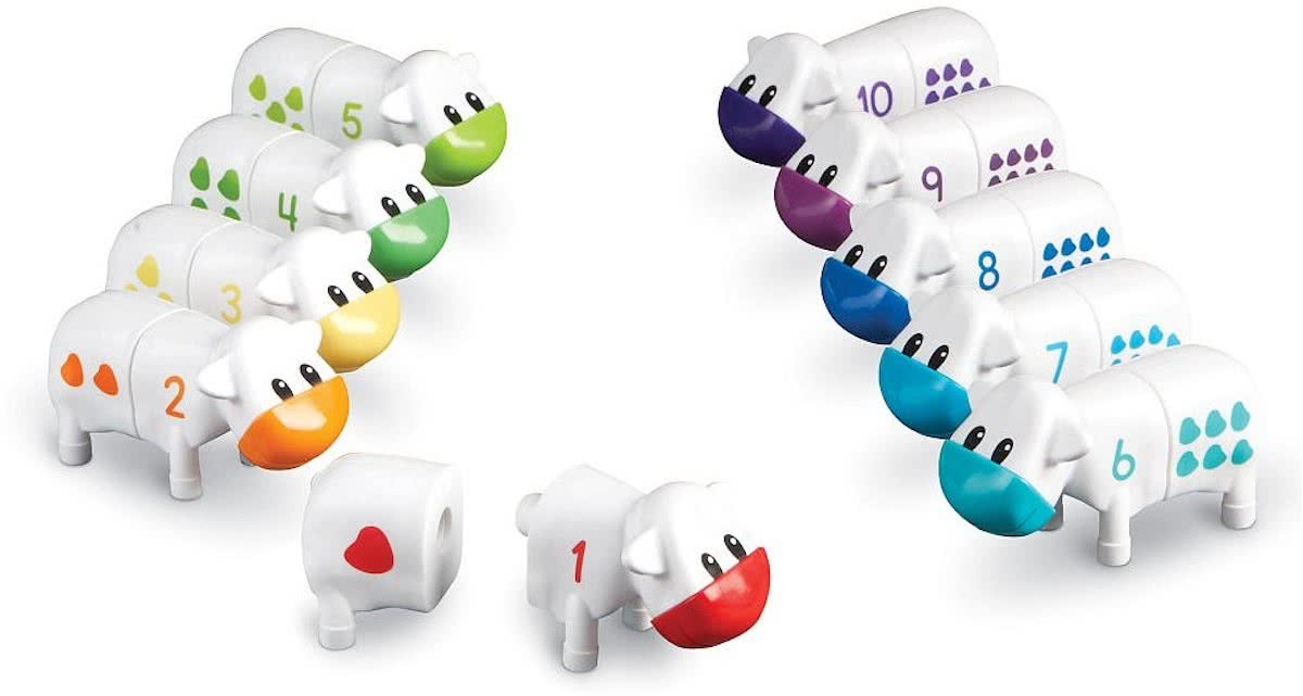 Learning Resources 1-2-3 Counting Cows Wit 20-delig