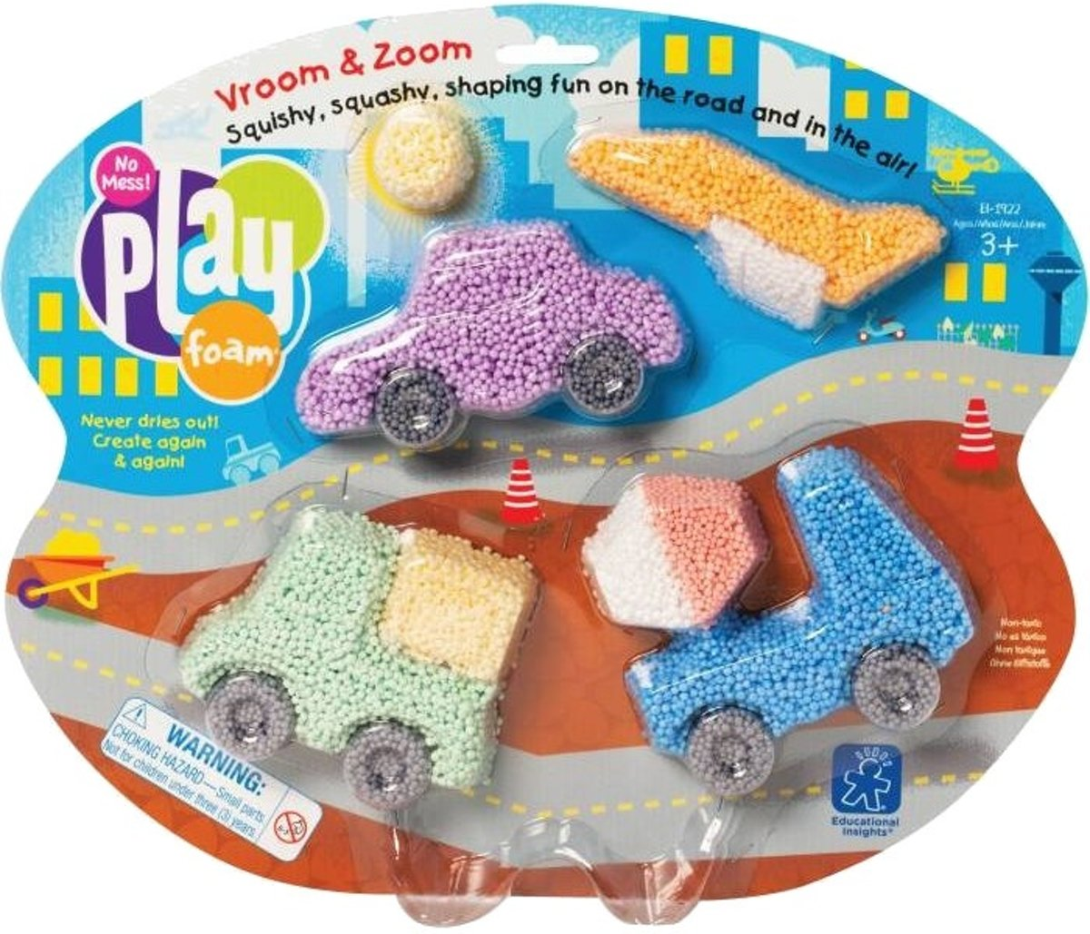Playfoam Vroom & Zoom Learning Resources