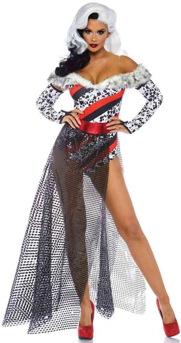 ba4c9eafd8300e Dalmatian Dame dames kostuum ...